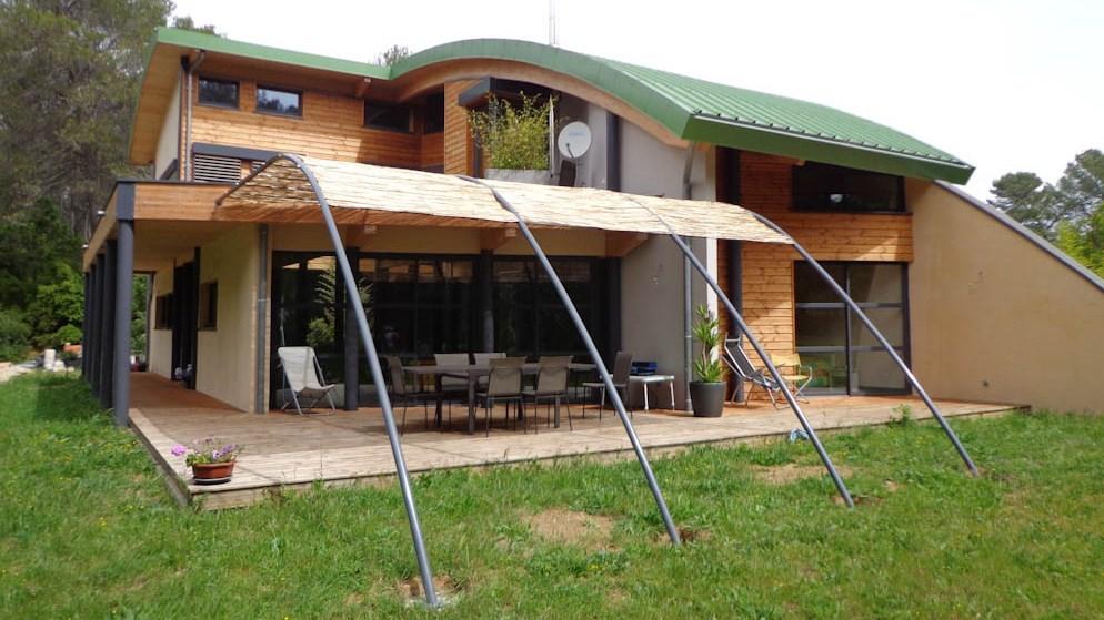 Construire En Ossature Bois - Architecte Patrick Ballester