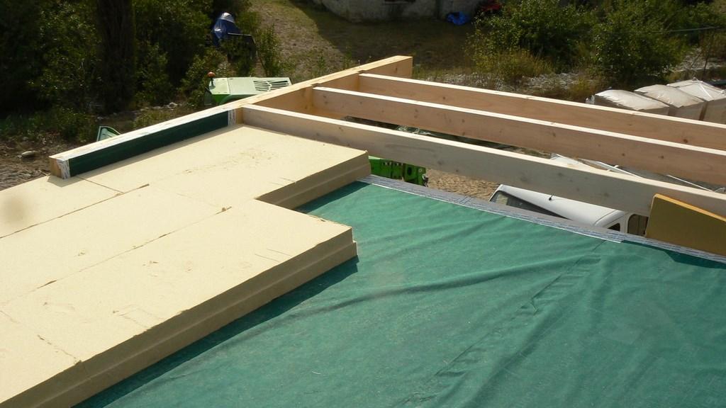 Sarking Fibre De Bois > isolation du toit, fibre de bois (Sarking)